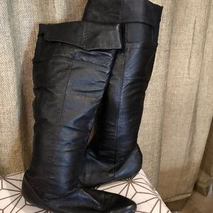 Chinese Laundry Knee high black boots